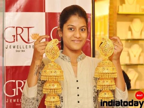 TOP 30 Beautiful South Indian  Broad Gold Jhumka Designs
