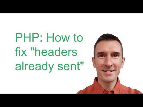 "How to fix the ""headers already sent"" error: omit the closing tag in pure PHP scripts"