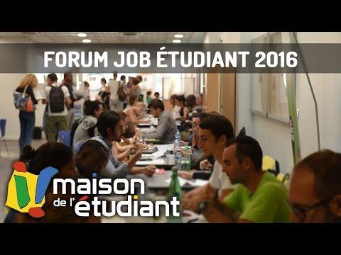 Forum Job Étudiant 2016