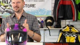 2014 HJC CL Y Youth Motorcycle Helmet at MxMegastore