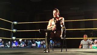 Finn Bálor wishes Samoa Joe a happy birthday at NXT Live