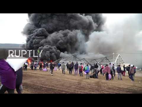 Bosnia and Herzegovina: Fire destroys Lipa migrant camp