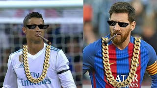 Cristiano Ronaldo & Lionel Messi ● Best Thug Life Compilation | HD