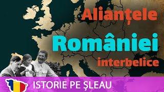 Alianțele României Mari în perioada interbelică, de la extaz la agonie (1921-1940)