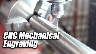 CNC Mechanical Engraving another part marking method - CT LASER & ENGRAVING