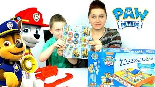 ЩЕНЯЧИЙ ПАТРУЛЬ На Задании Игра КРЕСТИКИ НОЛИКИ PAW Patrol Игры Видео для детей