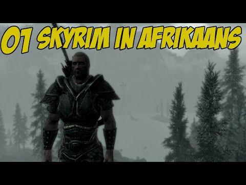 Skyrim in Afrikaans \\ Skyrim #1 \\ #ReefTV