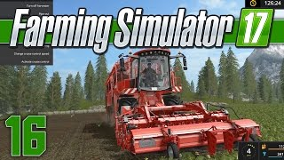 Farming Simulator 17 Gameplay - Ep 16 - Big Machines - Farming Simulator 17 Let's Play