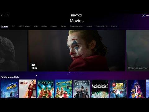 HBO MAX - Catálogo completo de filmes e séries no lançamento dos Estados Unidos