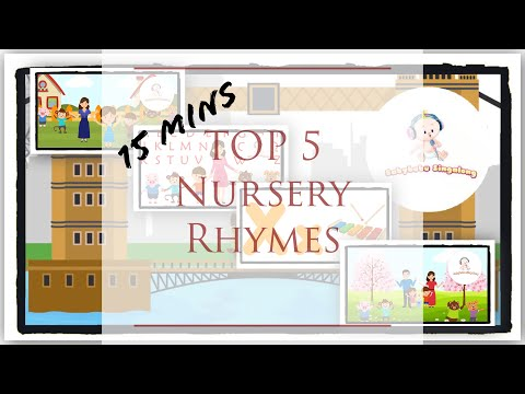 Nursery Rhymes Playlist 2018 - Vol 2 -15 mins - ABC Song , Phonics Song and More