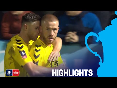 Guiseley 1-2 Fleetwood | All 3 Goals Scored in Mad 5 Minutes! | R2 | Emirates FA Cup 2018/19