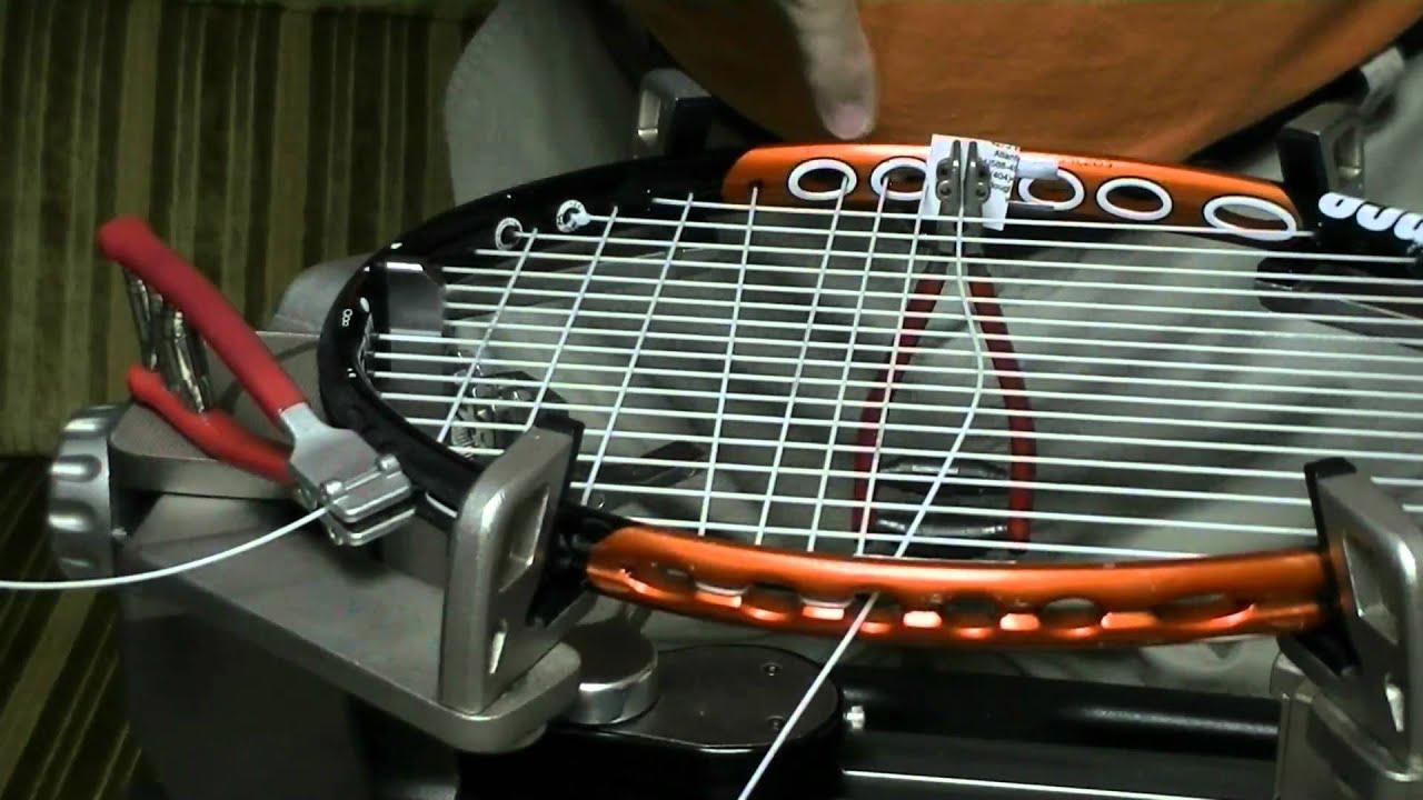 string a tennis