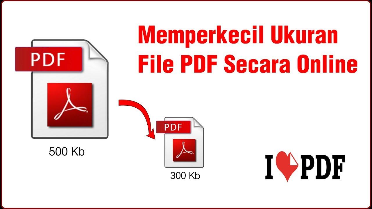mengecilkan ukuran file pdf