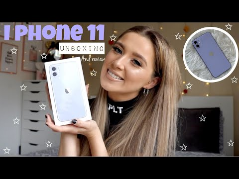 New *PURPLE* IPhone 11 Unboxing & Setup💜| FIRST IMPRESSIONS!!