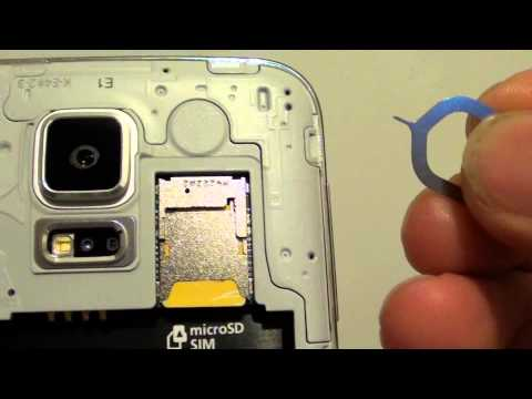 Samsung Galaxy S5: How to Remove SIM Card