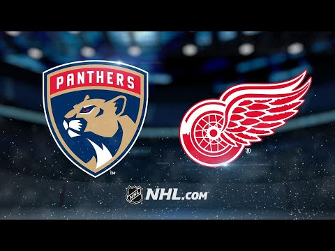 Matheson lifts Panthers past Wings in OT, 2-1