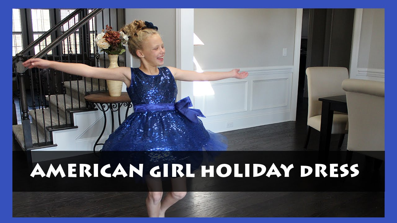 BG Review: AMERICAN GIRL HAPPY HOLIDAY DRESS - YouTube
