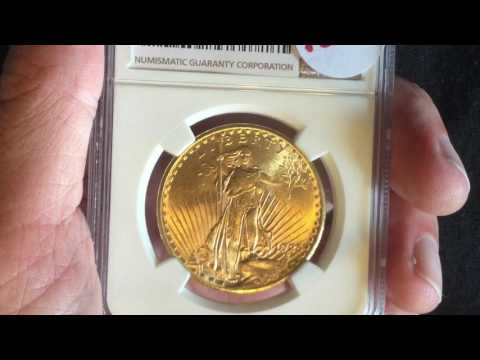 NGC Graded St. Gaudins $20 Gold Coin For ALMOST SPOT Price!