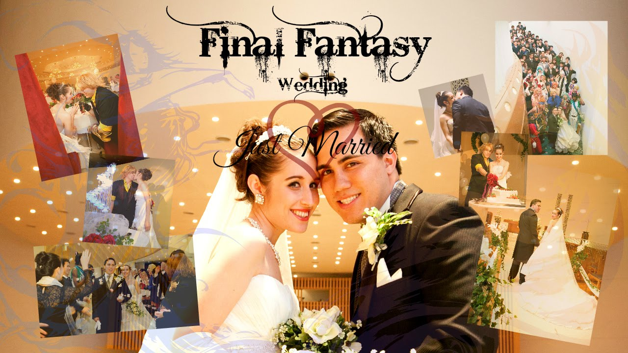We Got Married P3 Final Fantasy Cosplay Wedding Just