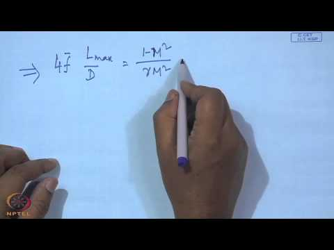 Mod-07 Lec-20 Adiabatic flow in ducts with friction (Contd.)