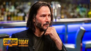 Download Keanu Reeves Talks Filming 'John Wick 3' Fight Scenes, Almost Changing His Name, More | Sunday TODAY Mp3 and Videos