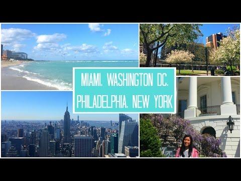 Travelling around the USA #4 || Miami, DC, Philadelphia & NYC