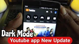 Youtube App New Update Dark Mode ! How to Enable Dark Mode On youtube App