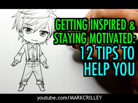 Getting Inspired & Staying Motivated: 12 Tips to Help You