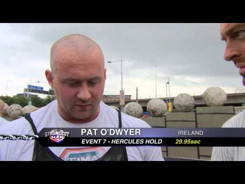 UKs Strongest Man 2013 Hercules Hold