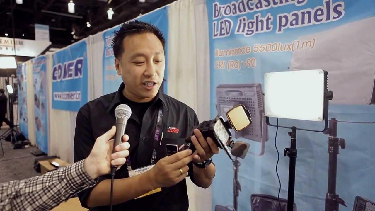 Professional High Powered LED Camera Light Comer CM-LBPS 1800