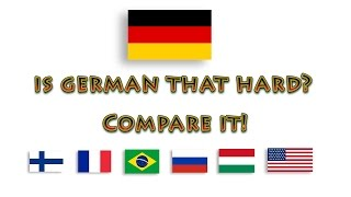 German compared to other languages thumbnail