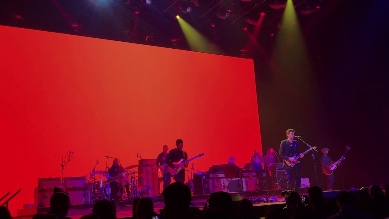 Slow Dancing In A Burning Room Live John Mayer The Forum Los Angeles Youtube