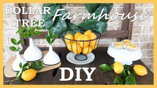 Dollar Tree DIY   DIY Farmhouse Decor   DIY Farmhouse Kitchen Dollar Tree