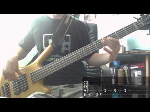 Incubus - 11 Am [Bass Cover + Tab]
