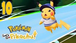 MOCARNY SZCZUR? [#10] Pokemon: Let's GO Pikachu!