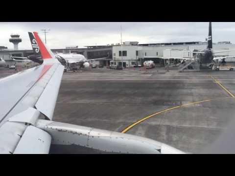 Jetstar A320 Auckland Departure Time Lapse