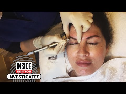 The Woody Show - Lisa Guerrero Gets Infection After Microblading Procedure