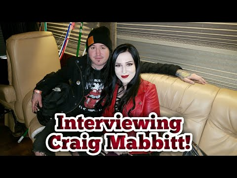 Interviewing Craig Mabbitt from Escape The Fate