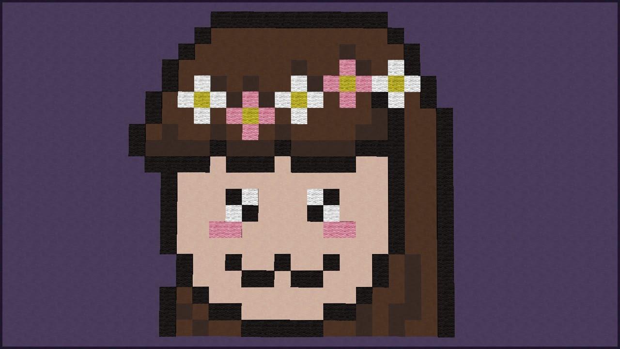 Minecraft Só Pixel Art Kawaii Com A Jazzy Build Battle