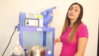 Snow Cone Machinery for Small Business