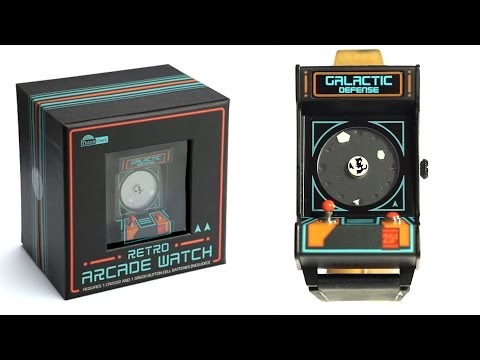 Classic Arcade Wristwatch from ThinkGeek