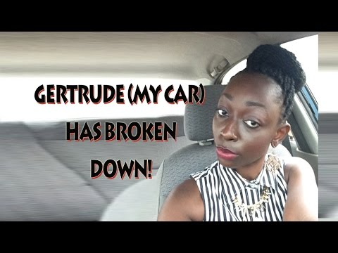 VLOG: My car has broken down on the streets of Accra!