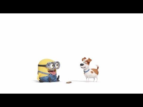 あの黄色いヤツらが再びスクリーンに!『ペット』×『ミニオンズ』コラボ映像が到着!