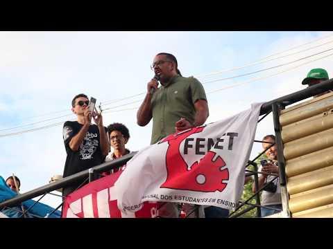 #30M: Wanderlan Porto fala em defesa da educação e contra a perseguição de Weintraub