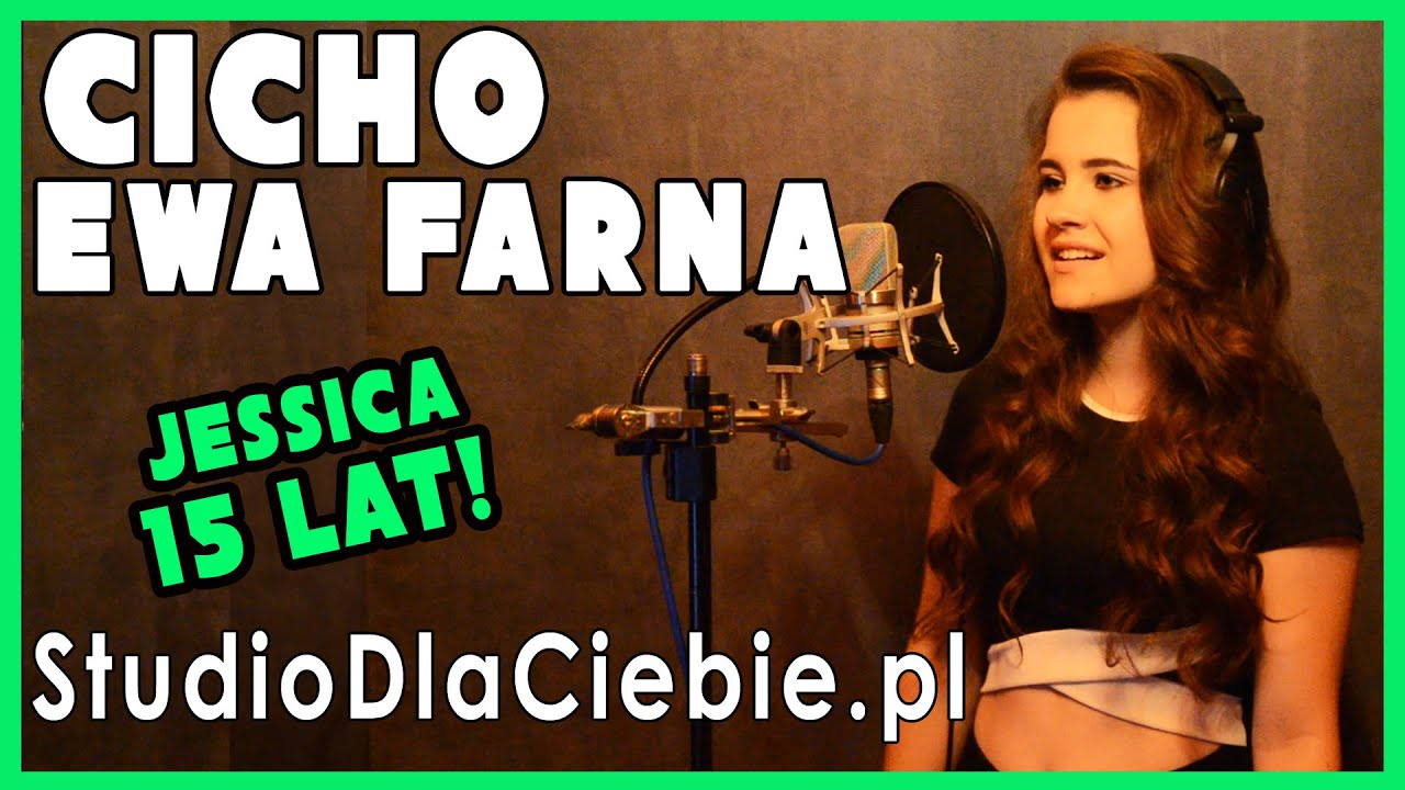 Cicho Ewa Farna Cover By Jessica Stellmach Youtube