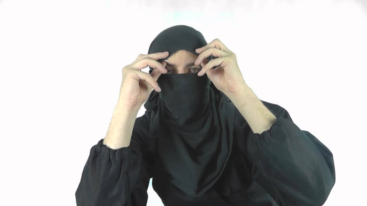 Black t shirt ninja mask - How To Make A Ninja Mask With A T Shirt Kage Ninja Gear