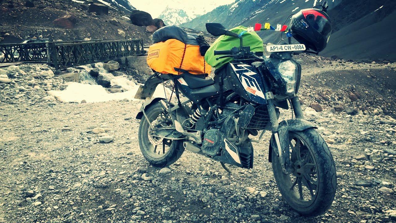 Ktm Motocross Wallpaper Hd Leh Ladakh Road Trip 2015 On Ktm Duke 200 Youtube