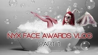 My experience in the NYX Face Awards --  Part 1