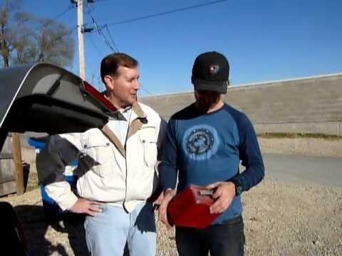 Mike Wolfe meets #1 fan, Brian, in LeClaire, Iowa