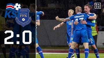 Erste isländische Qualifikation der Geschichte: Island - Kosovo 2:0 | Highlights | WM-Quali | DAZN